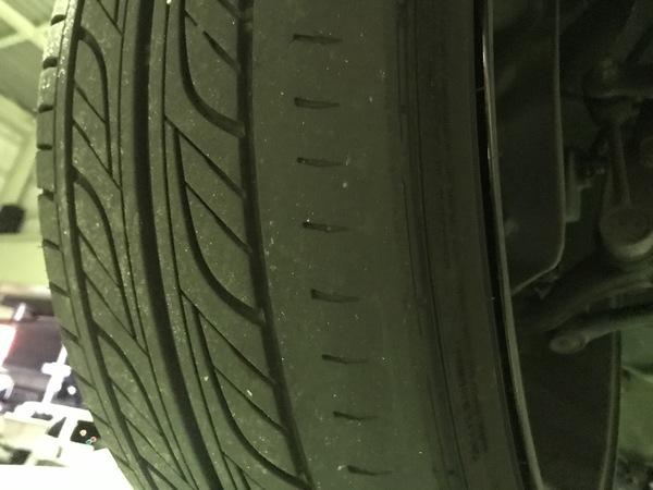マークⅡ ブリッド タイヤ交換&車検