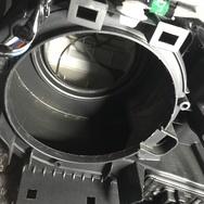 ダイハツ L175Sムーヴエアコン不良 ブロアモーター交換