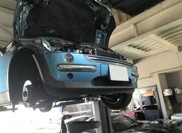 BMW MINI パワステポンプ パワステホース交換